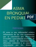 Asma Bronquial en Pediatría