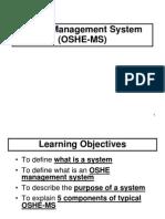 14 OSHE-Management System