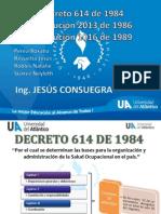 Decreto 614 de 1984