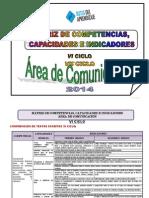 Matriz Competencias  2014