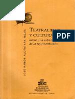 II. Hacia Una Est Ética de La Teatralidad Reinterpelando a Aristóteles - Teatralidad y Cultura