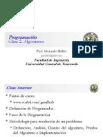 Clase Programación 2