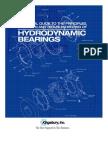 Hydrodynamic Bearings