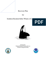 Recovery Plan for Southern Resident Killer Whales