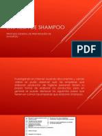 Proceso Para La Elaboración de Shampoo
