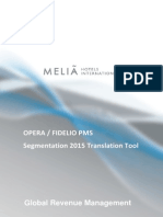 Manual - Segmentation 2015 Transaltion Tool - Opera Fidelio