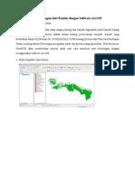 Membuat Peta Kelerengan Dari Kontur Dengan Software ArcGIS-libre