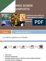 DESICIONES DE TRANSPORTE