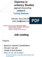 MA Slides Lecture 5 Solutions _ Costing Methods