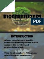 Biofertilizers.