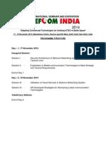 Programme Structure - DeFCOM'14