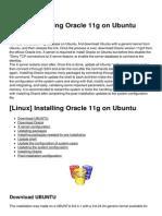 Linux Installing Oracle 11g on Ubuntu 4405 Lzby5e