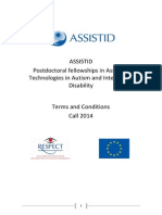 Terms and Conditions for the ASSISTID Programme FInal