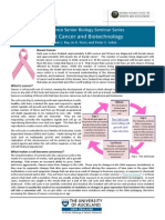 Breast Cancer and Biotechnology