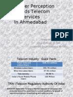 Consumer Perseption towards telecom services