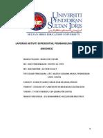 contoh laporan Pembangunan sahsiah