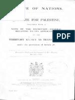 British Mandate for Palestine