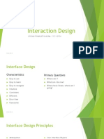 Interaction Design