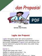 4. Logika & Preposisi