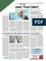 Forum Sempronii, ricostruzione virtuale - Il Corriere Adriatico del 12 novembre 2014