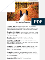 Ridgefield Arena October-November 2014 Newsletter