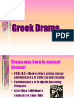 Theater History i i
