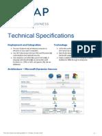 ZAP BI CX Technical Specification