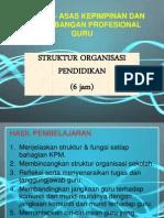 7. Struktur Organisasi Pendidikan