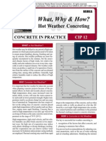 CIP12-Hot Weather Concreting