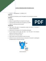 Determination of Binder Content for Asphalt Mix