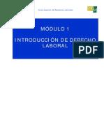 Mód 1 - Introducción al decerecho laboral.pdf