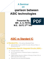 comparison between ASIC technology