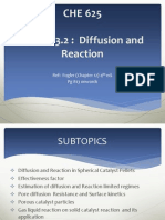 Topic 3.2- Internal Diffusion and Reaction