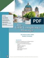 ECA GMP Compl Manager 2014