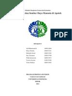Organisasi Dan SDM Apotek (Kelompok Penyangga) -- Kelompok 8 -- Manfarkom B