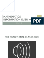 mathematics information evening