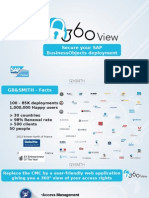 360View presentation for business objects security management