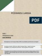 Posyandu Lansia Slide