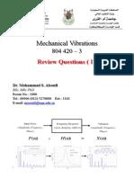 Mechanical Vibration_Review Questions