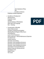 Policies List