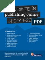 Tendinte in Publishing Online in 2014_2015