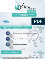 360eyes compliance presentation for BO license compliance