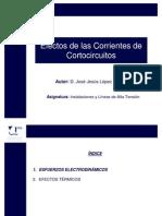 Efectos de Las Corrientes de Cortocircuitos