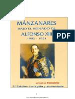 Historia contemporánea de Manzanares