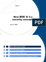 SAP BusinessObjects Xi3 New Security Concepts