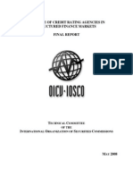 The Role of Credit Rating Agencies in Structured Finance Markets Final Report - IOSCO