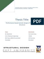 Performance based design