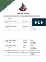 Jadual Minggu Bahasa Melayu 2014