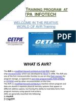 AVR Training