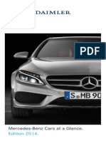Mercedes Benz Cars at a Glance Edition 2014